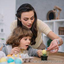 Как покрасить яйца на Пасху своими руками без химии