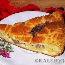 Пирог на кефире, который всегда получается