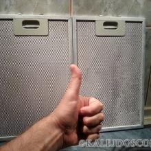 Как отмыть фильтр кухонной вытяжки?
