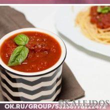 Томатный соус из консервированных помидор