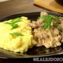 Бефстроганов из говядины. 7 простых пошаговых рецептов приготовления любимого блюда